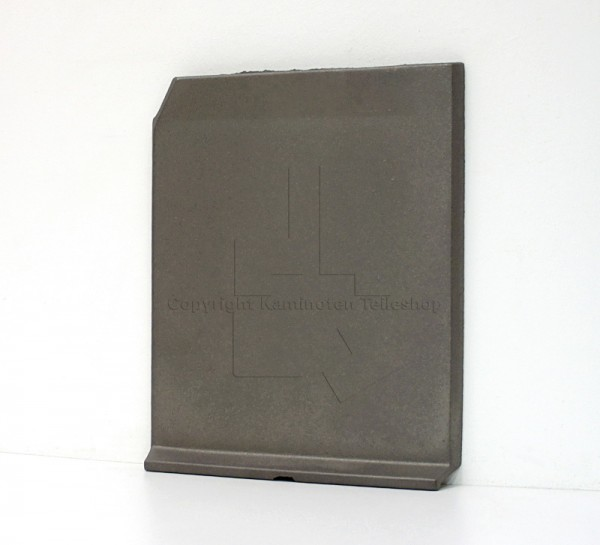 Jotul Cube seitliche rechte Brennraumplatte aus Guss für die Jotul I 500 FL Brennkammer