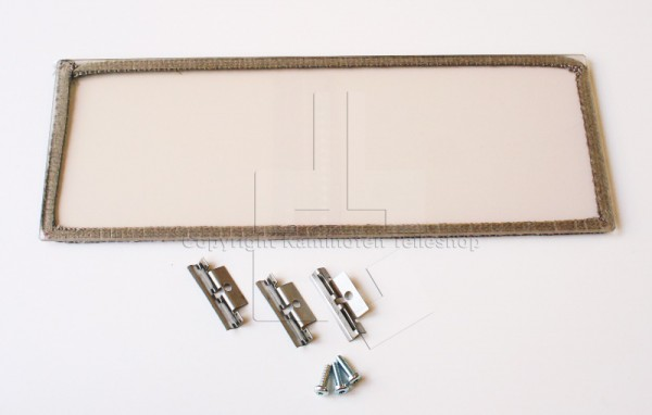 Contura 556 und Style innere breite Seitenscheibe