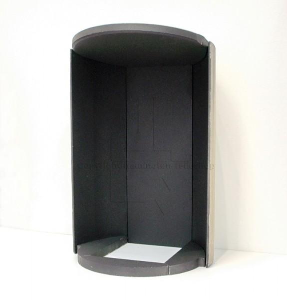 Skantherm elements rund Brennraumauskleidung in schwarz