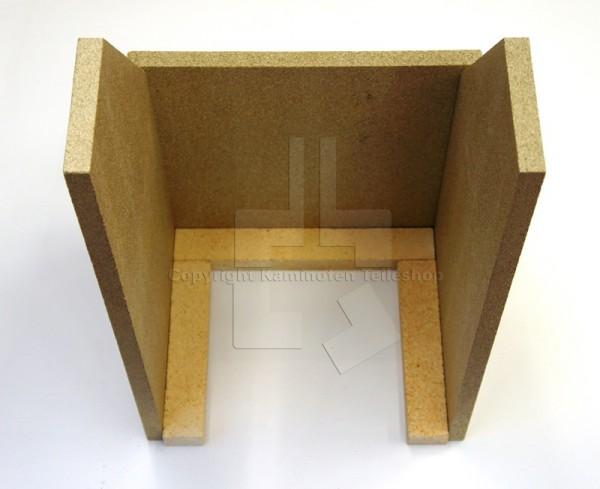 Brennraumplatten für Scan 29 aus Vermiculit und Schamotte