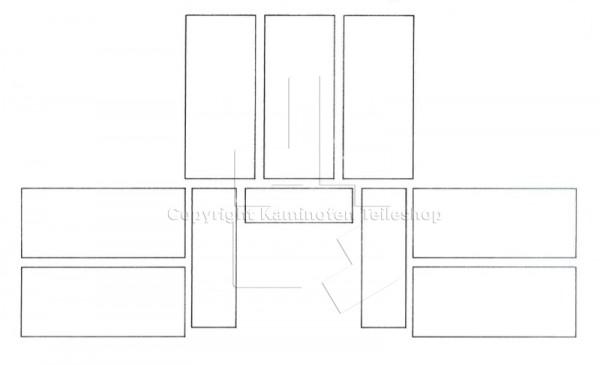 Scan 13 Brennraumauskleidung bis Baujahr 06.1994