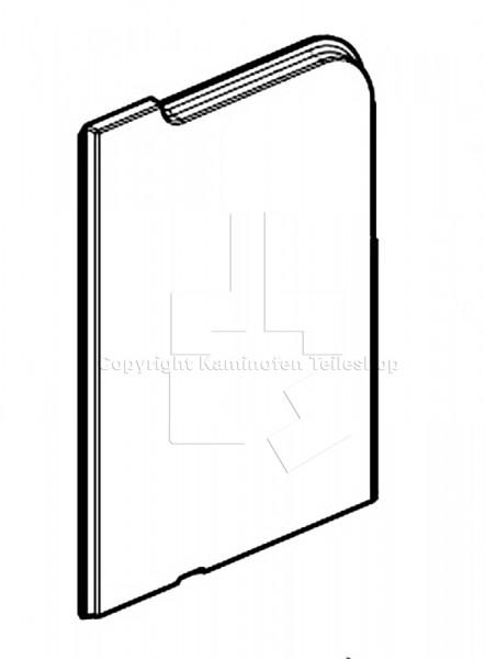 Jotul I 520 seitlich linke Brennraumplatte
