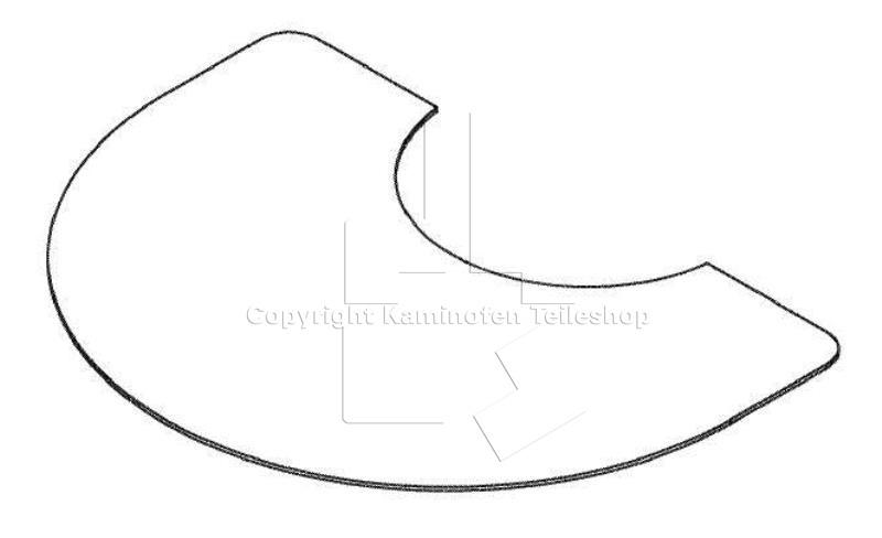 Scan Ersatzteil: Glasvorlegeplatte für Scan 50 Serie und Scan 53 ...