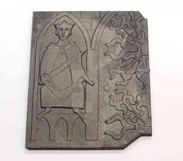 rechte Brennplatte für Jotul I 17 A / Nordkap