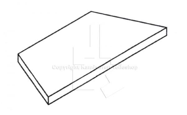 original scan ersatzteil rauchumlenkplatte f r kaminofen scan 9 h ecke ab baujahr. Black Bedroom Furniture Sets. Home Design Ideas