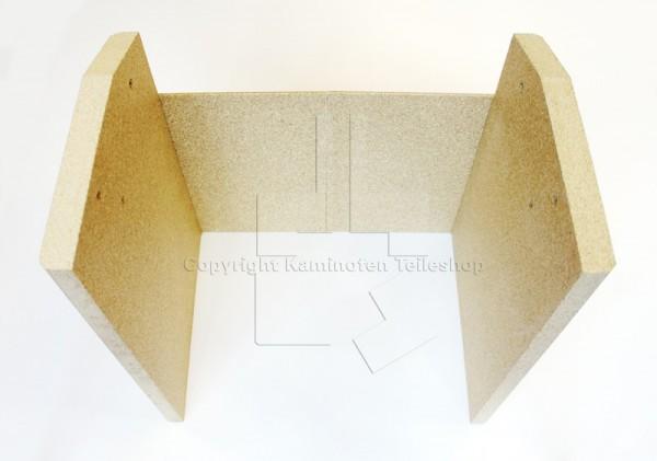 4-teiliger Satz Brennkammersteine aus Vermiculit für Scan Basic 4-2 und Scan Basic 5