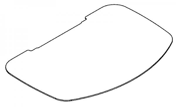 Scan 48 Glasvorlegeplatte