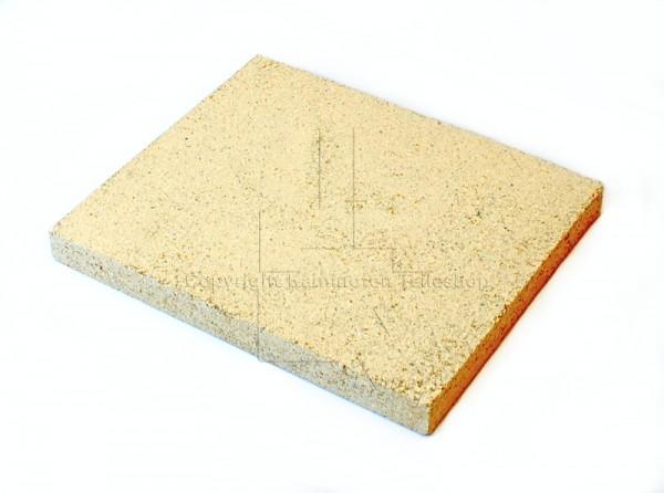 DSA 1 Bodenstein hinten mittig aus Schamotte