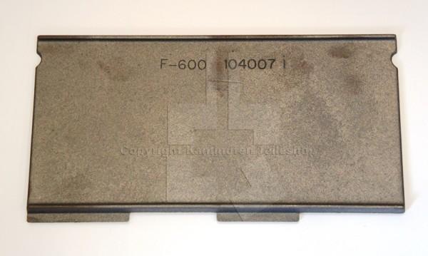 Jotul F 600 Rauchumlenkplatte