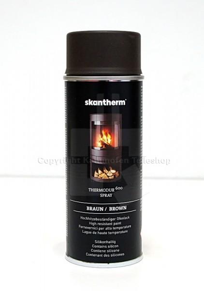 Skantherm Ofen-Lackspray Braun für Kaminöfen