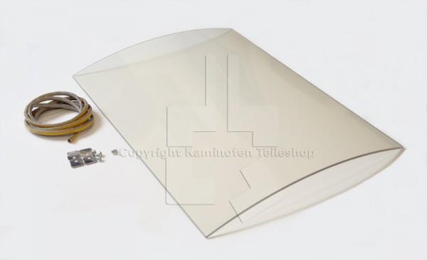 Contura 700 Serie Ofenscheibe inklusive Scheibendichtung und Haltematerial