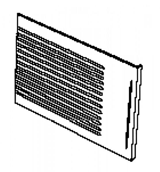 Handöl 2 seitlich rechte Gusshitzeschutzplatte ab Baujahr 1987