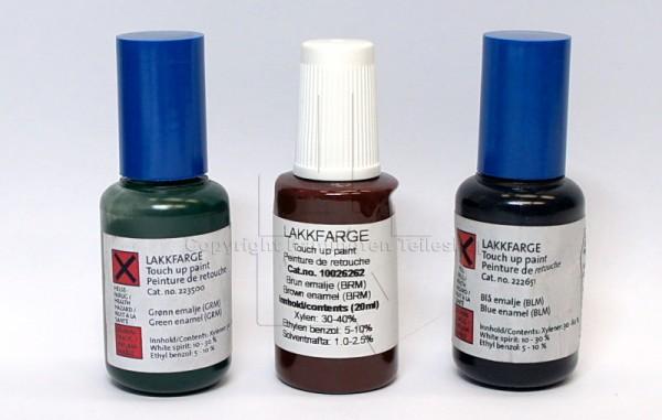 Jotul Emaille Reparaturlack in verschiedenen Farben