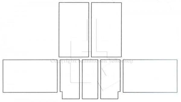 Scan 25 mit Hebetür Ofenauskleidung ab Baujahr 02.1996