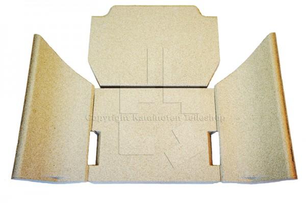 Contura 500 Brennraumauskleidung aus Vermiculit für Kaminofen