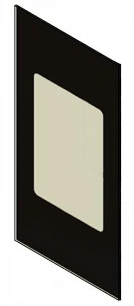 Seitenscheibe für Kaminofen Scan 56