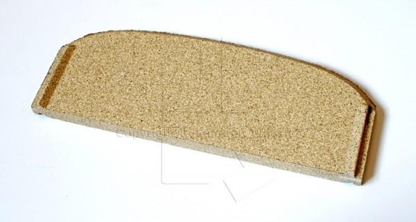 Contura 860T vordere Rauchumlenkplatte für Kaminofen