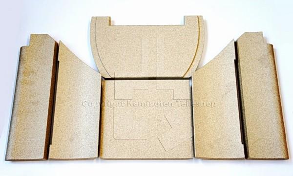 Nibe Contura 600 Serie Ofenauskleidung / Brennraumauskleidung / Schamotte
