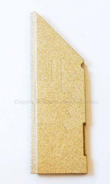linker Stein der Brennraumauskleidung für Contura 556 / 586