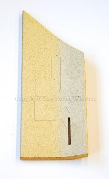Contura / Handöl 30 Serie seitliche linke Brennraumplatt aus Vermiculit