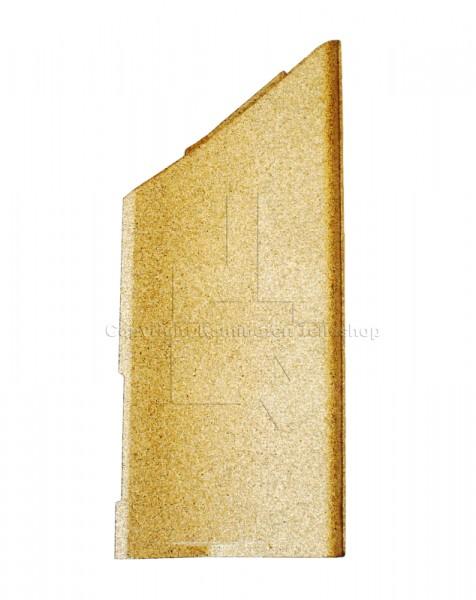 seitliche rechte Brennraumplatte für die Kaminofen Nibe Contura 500 Serie