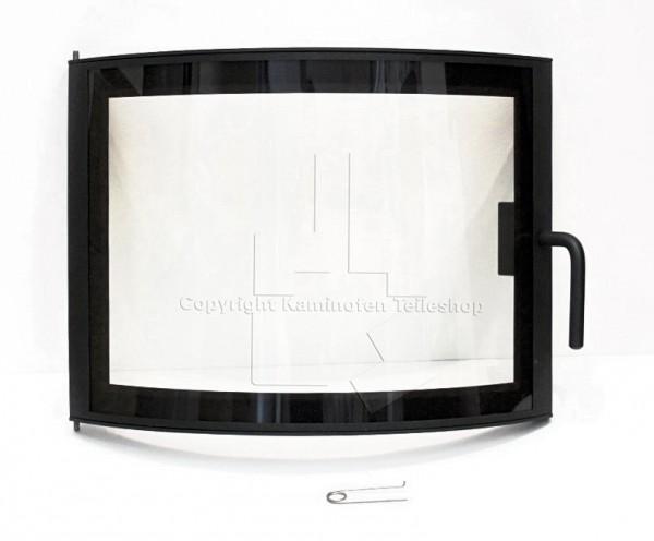 Nordpeis Geilo geänderte Panoramatür mit Glas