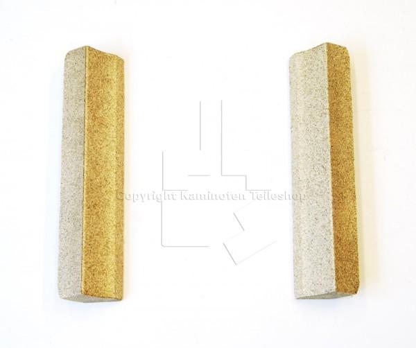 seitliche schmale Brennraumsteine für Kaminofen Scan 58-2 und 58-5