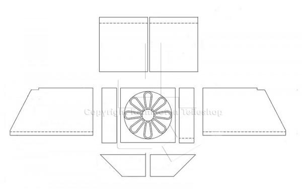 Scan 24 N Brennraumauskleidung