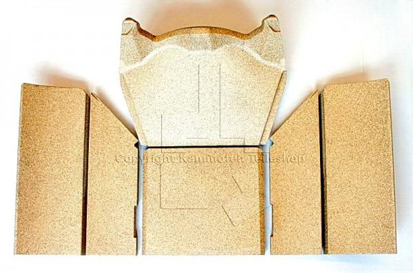 Contura 520S Style Kaminofen Brennraumauskleidung / Innenverkleidung