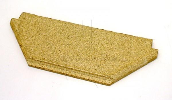 Contura 850 schräge Rauchumlenkplatte für Kaminofen
