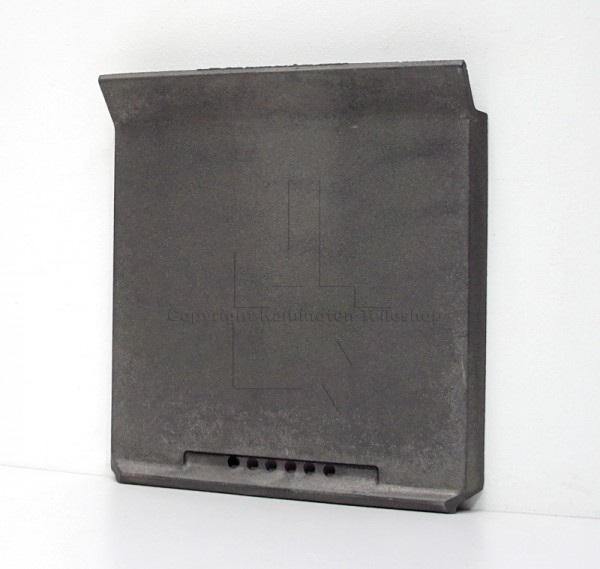 Jotul Cube hintere Brennraumplatte aus Guss mit Brennkammer Jotul I 500 FL