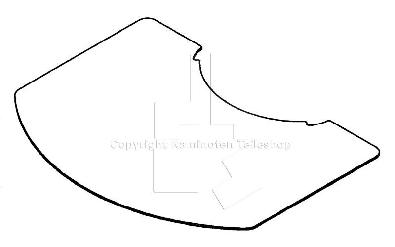 Glas-Funkenschutzplatte für Scan 39 | Ofen Teileshop - Ersatzteile ...