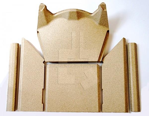 Contura 586 / 586 Style Kaminofen Brennraumauskleidung / Innenverkleidung