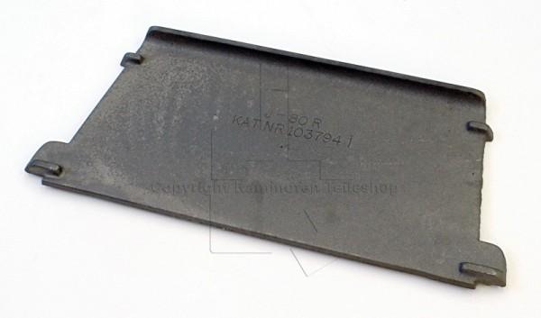 Jotul I 80 CB Mini und Maxi Rauchumlenkplatte aus Guss