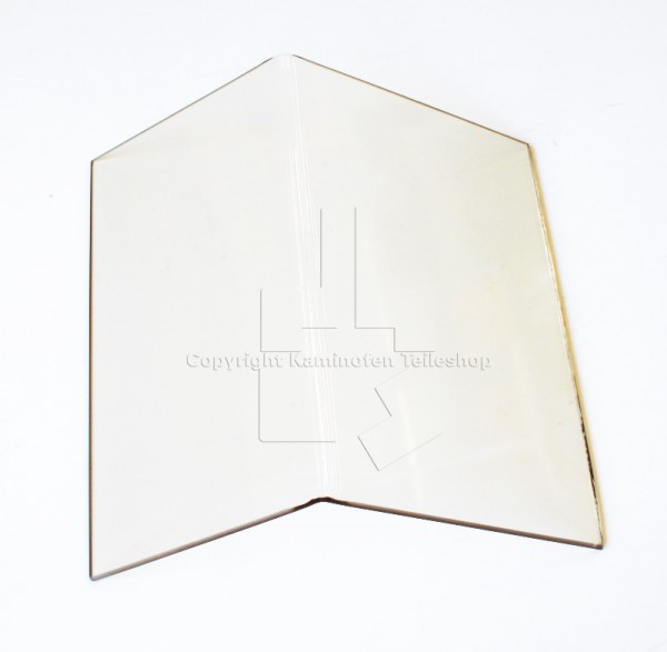 Original Scan Ersatzteil: Türglas-Knickglas- für Kaminofen Scan 9 ...