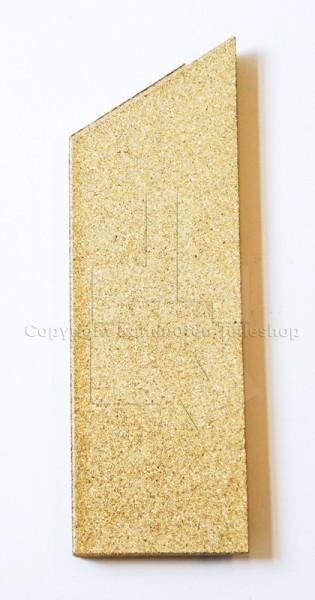 rechte Seitenplatte der Ofenauskleidung für Kaminofen Contura 850, 860T und 880