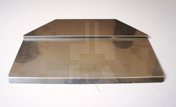 Rauchumlenkplatte für Nibe Contura 400 Serie