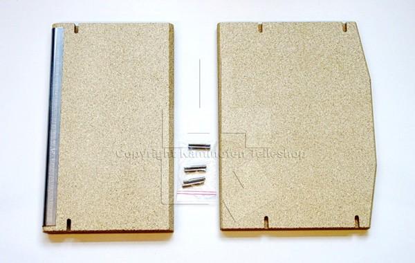 Scan Anderson 8-2 Rauchumlenkplatten für Kaminofen