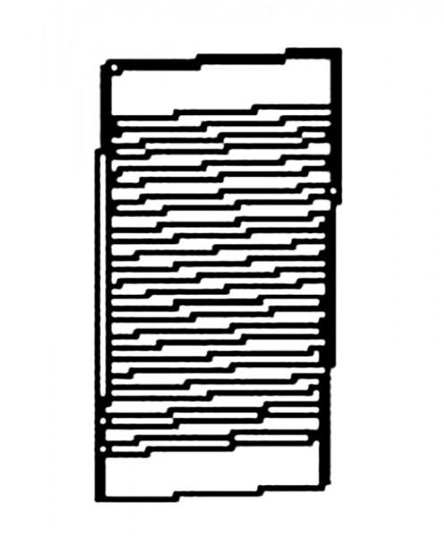 Handöl 2 hintere Gusshitzeschutzplatte ab Baujahr 1987